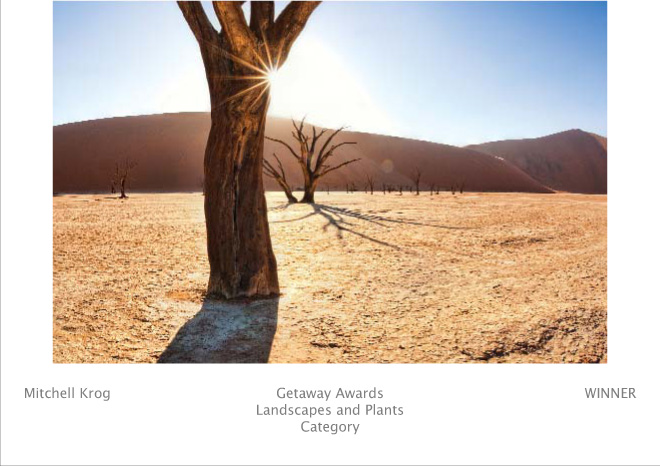 Wildlife Photography Awards Getaway Fujifilm - Deadvlei Sunrise Namibia - Winner (Landscapes and Plants - LP) (Image REF: NAX1542)