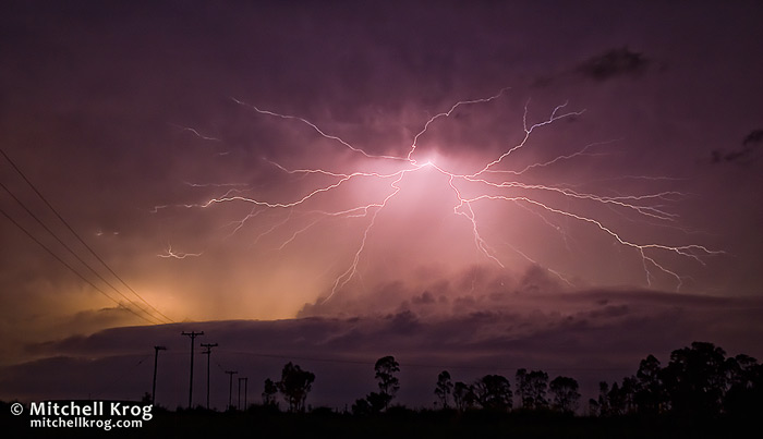Killer Lightning Storm Photo from South Africa